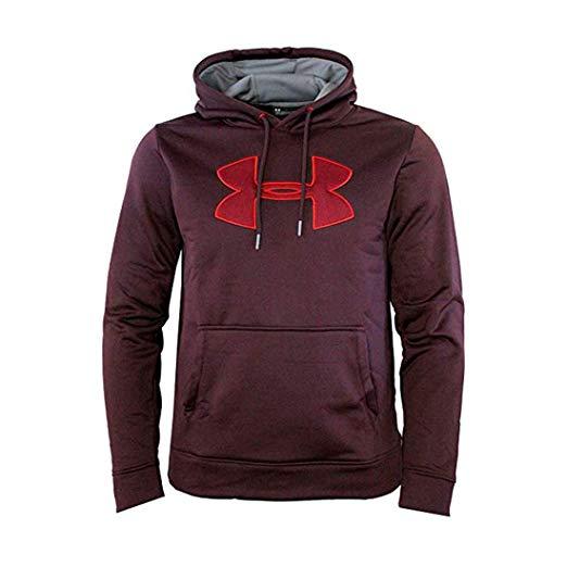 Under Armour Men\'s Storm Fleece Big Logo Hoodie Athletic.