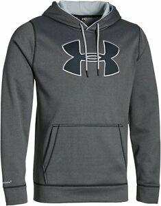 Details about Under Armour Men\'s Storm Armour Fleece Big Logo Hoodie S,M,  L, XL,XXL.