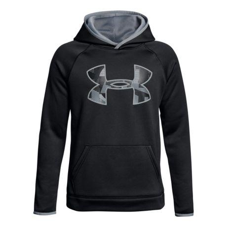 Under Armour® Boys' Armour Fleece® Big Logo Hoodie.