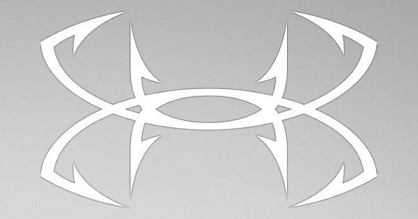 Under Armour Fish Hook Logo.