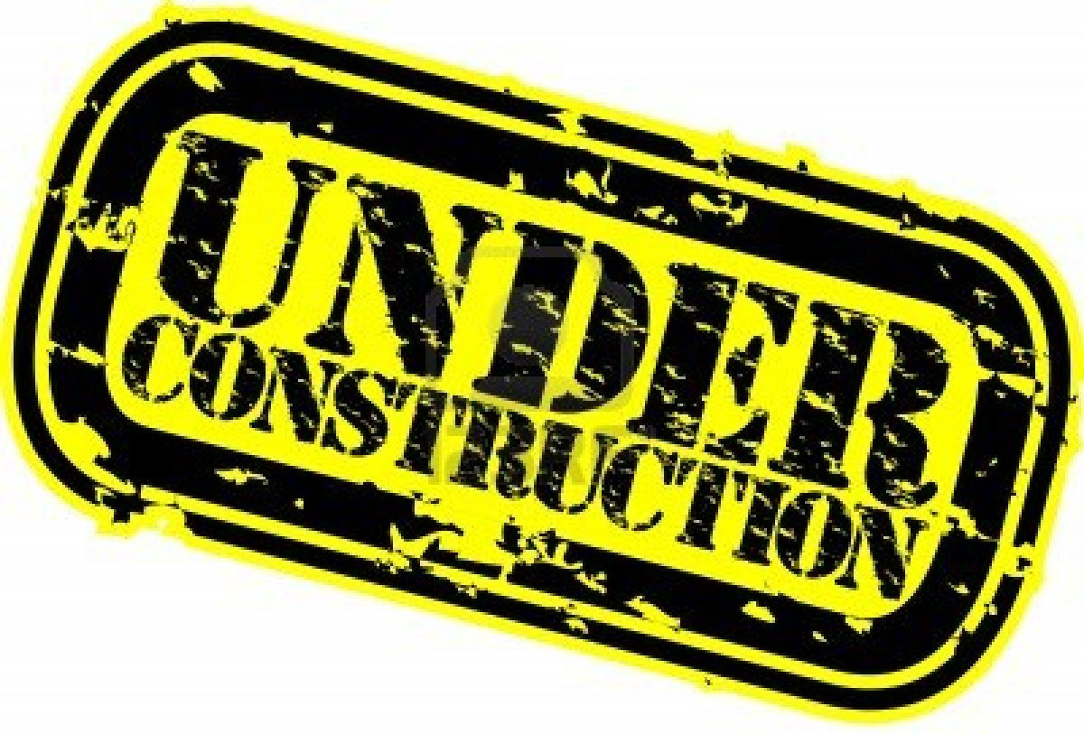 under construction clipart.