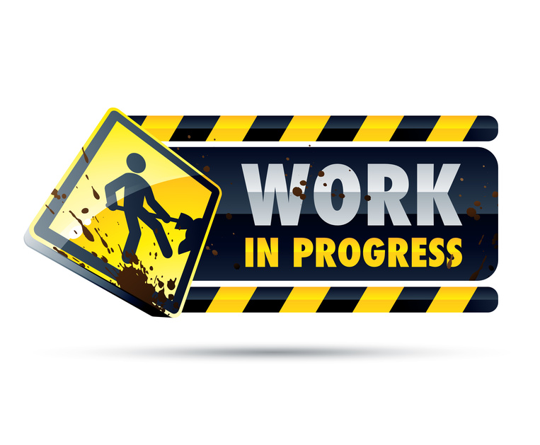 Free under construction clipart image.