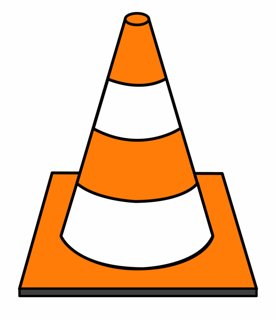 Cone Clipart Construction Site.