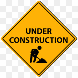 Under Construction Sign PNG and Under Construction Sign.