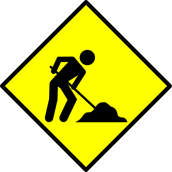 Under Construction Signs Clip Art N4 free image.