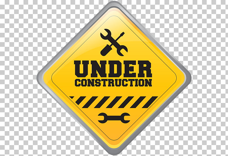 construction signs PNG clipart.