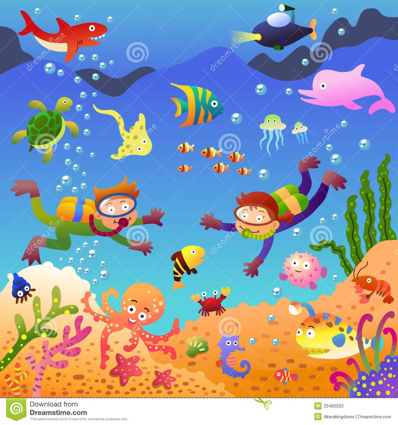 9+ Under The Sea Clipart.