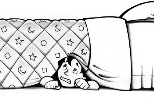 Under The Bed Clipart.