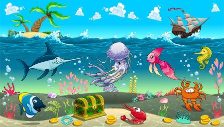 Under The Sea Clipart Free Download Clip Art.
