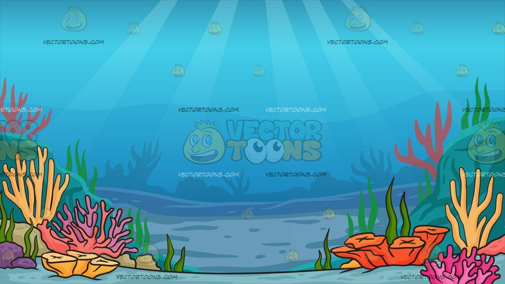 Under The Sea Background.