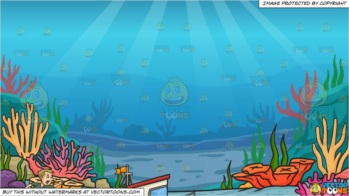 Miss The Boat and Under The Sea Background.