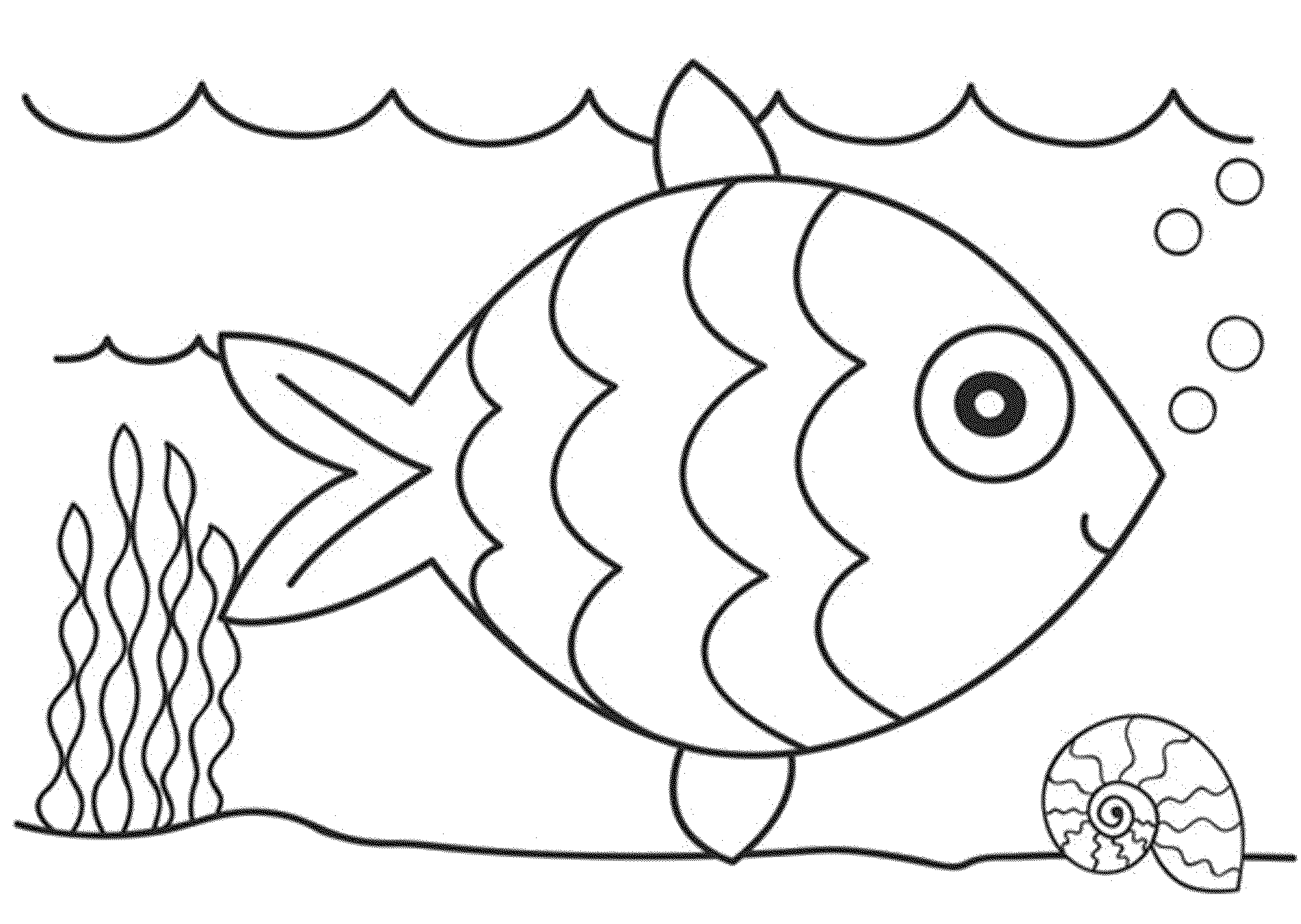 Free Under The Sea Clipart Black And White, Download Free.
