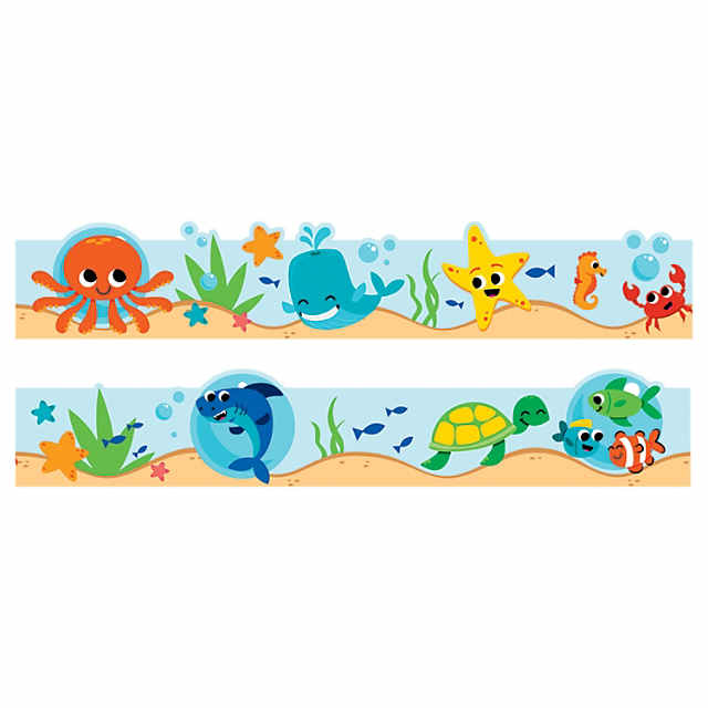 Under the Sea Bulletin Board Borders.