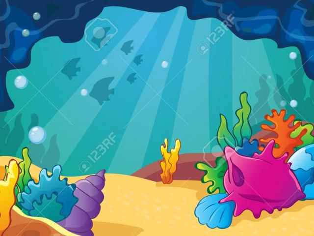 Cave clipart under sea, Cave under sea Transparent FREE for.