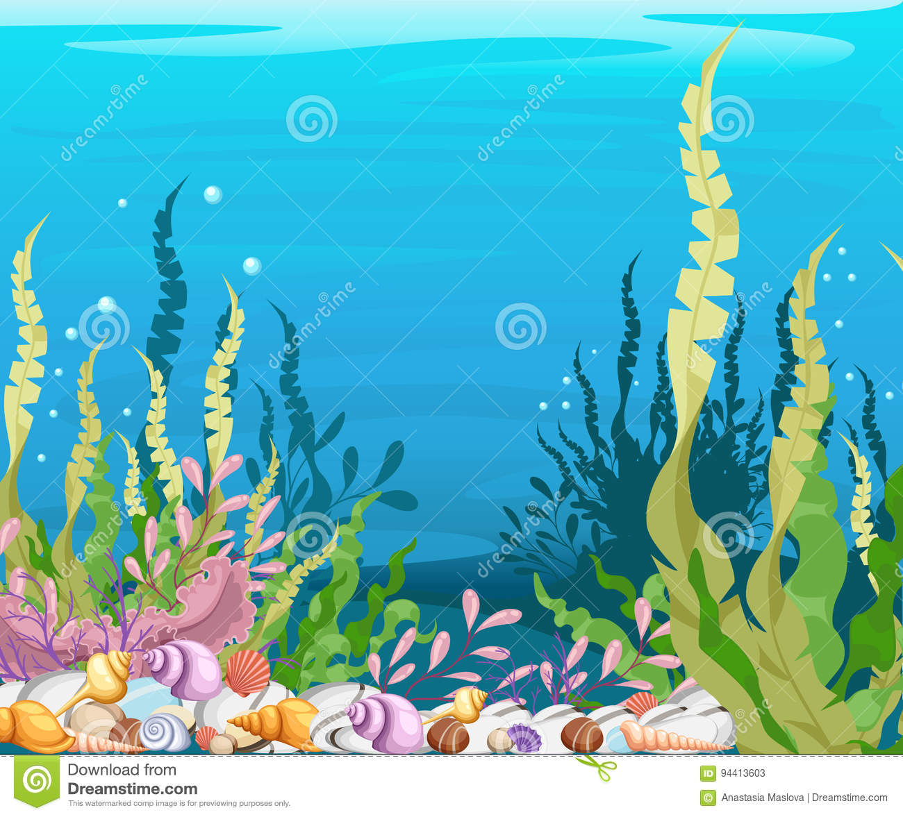 1304 Under The Sea free clipart.