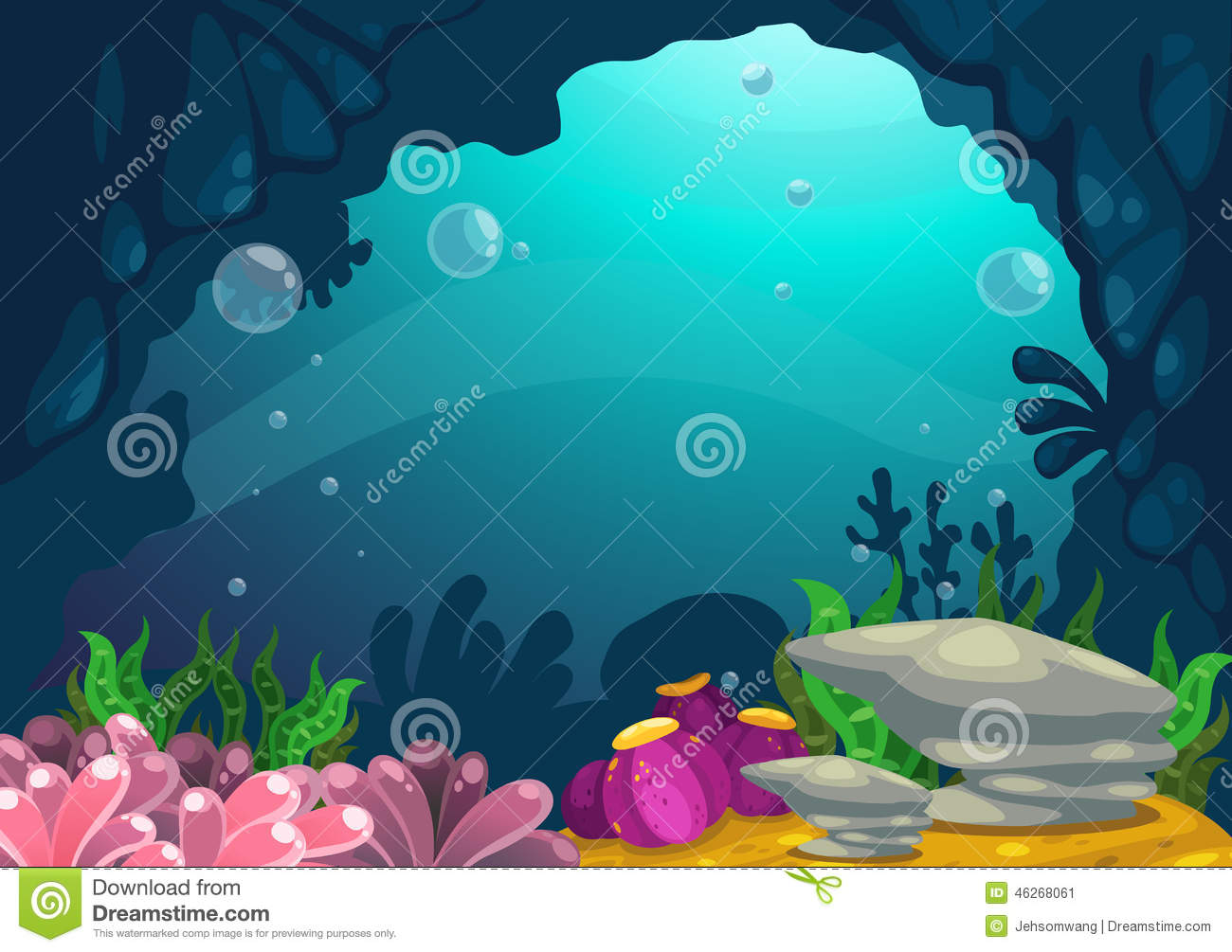 Under the sea clipart background 9 » Clipart Station.