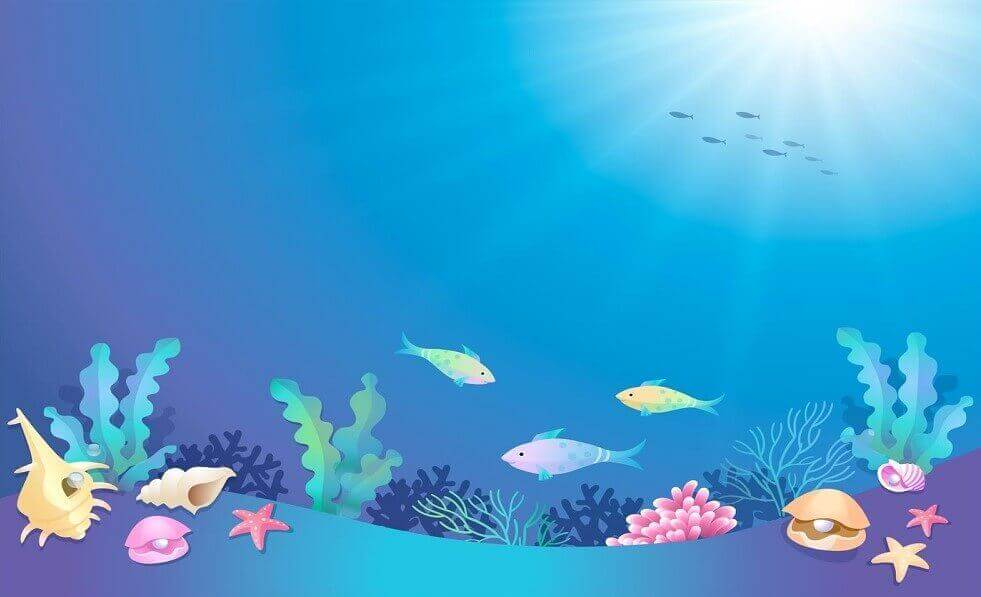 Free Printable Ocean Coloring Pages (Under The Sea).