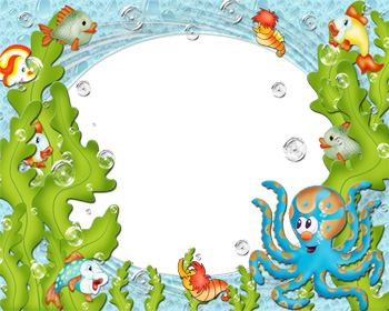 Under The Sea Border Clipart.