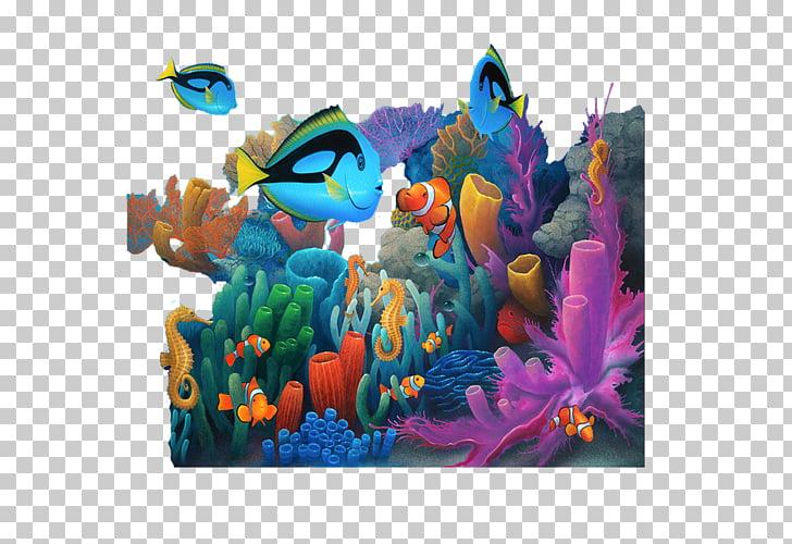Under the Sea Drawing Desktop , sea, underwater artwork PNG.