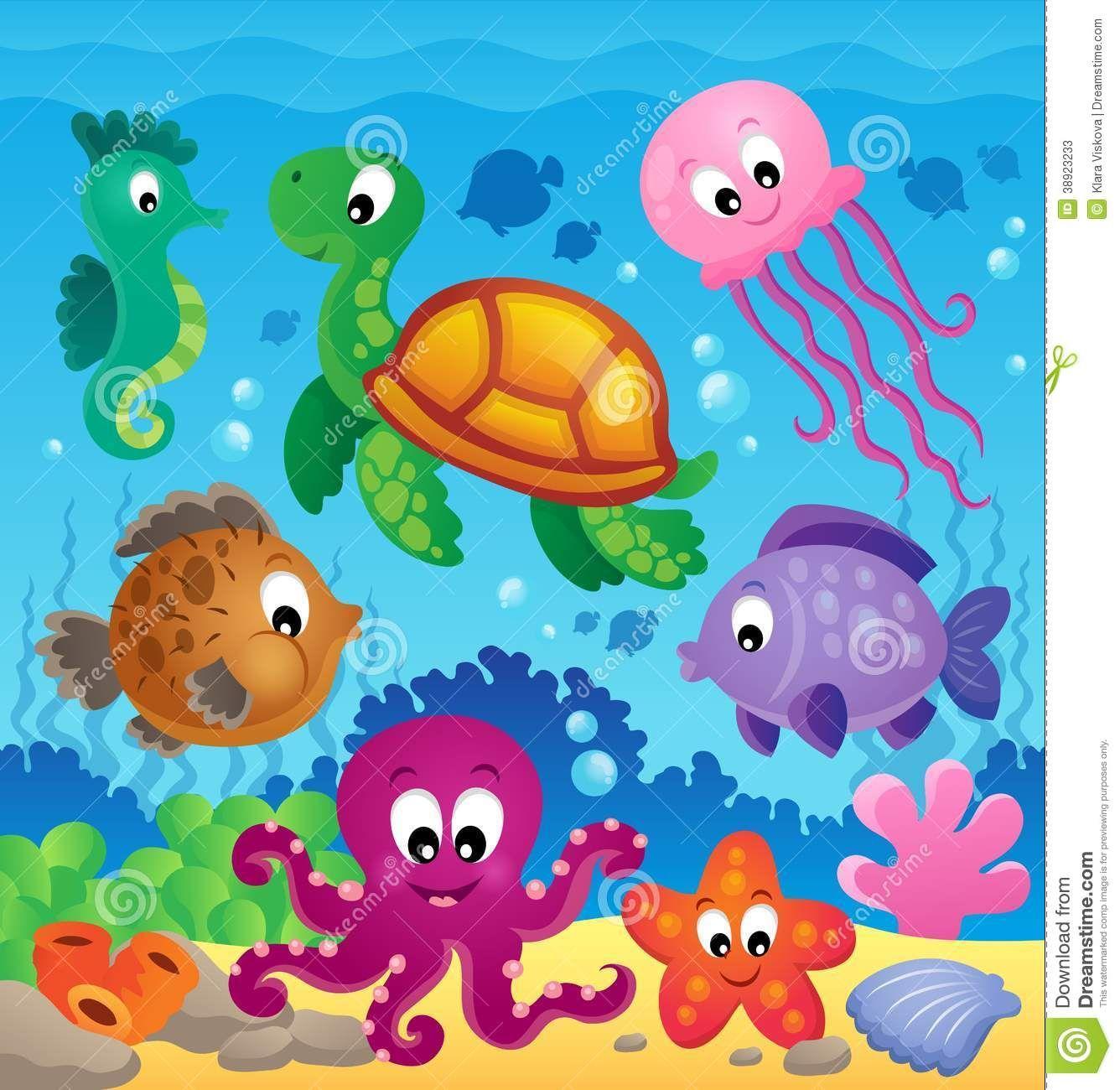 Under The Sea Theme Clipart.