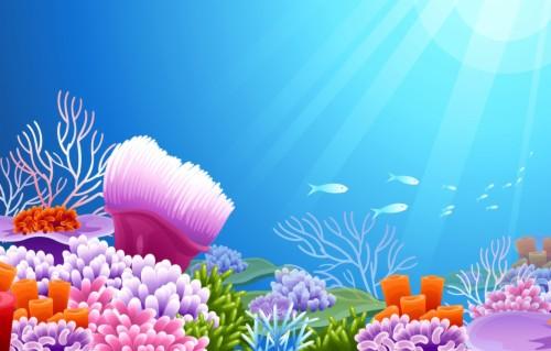 Under The Sea Wallpaper.