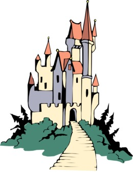 Water Castle clipart.