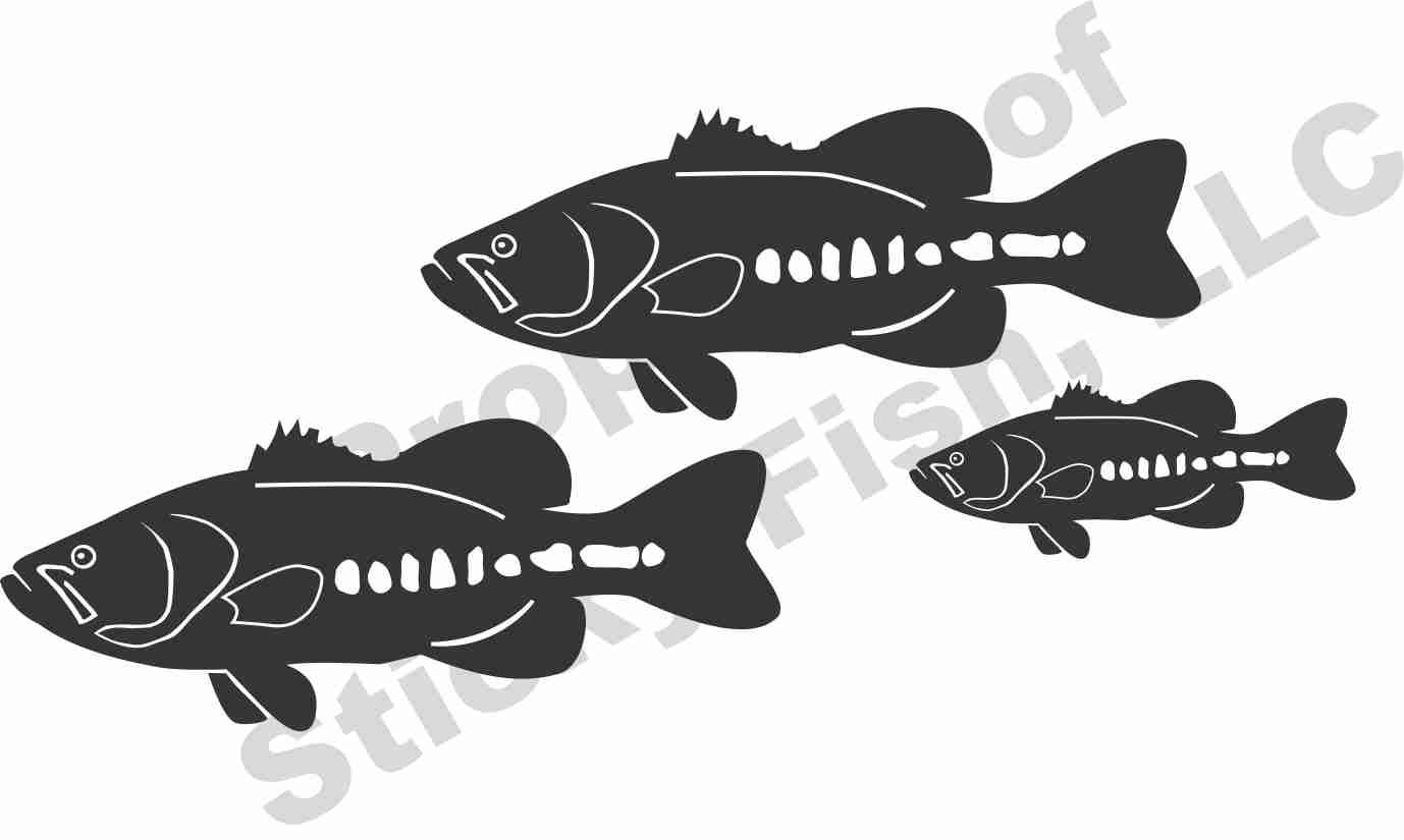 bass silhouette images.