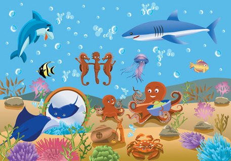 Free Vector Underwater World Fish Underwaters Clipart and.