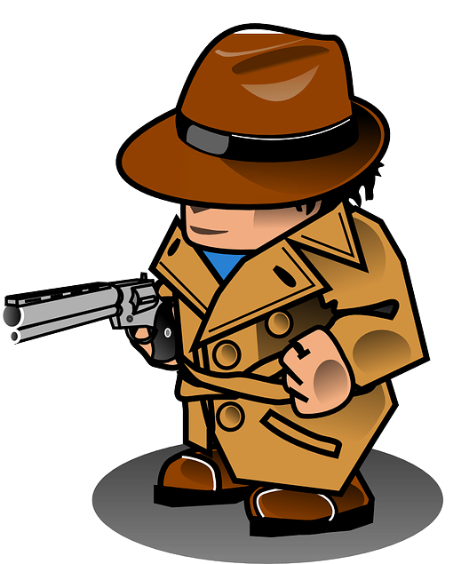 Undercover Agent Clipart.