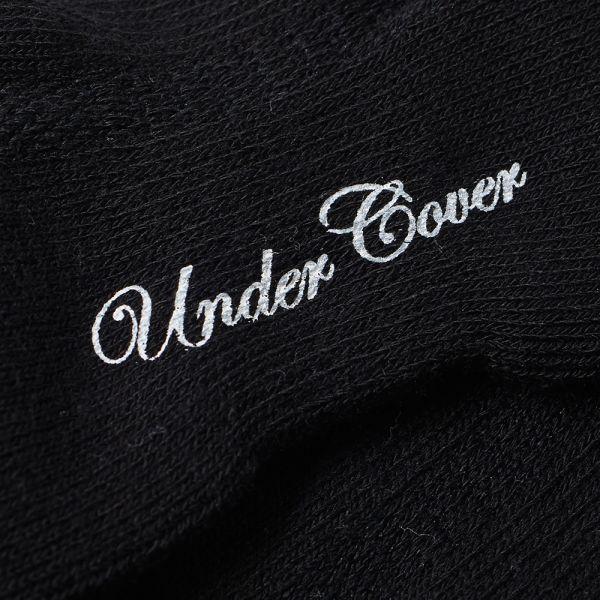 Undercover Logo Ankle Socks.