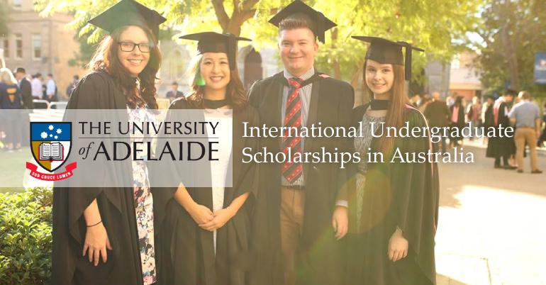 University of Adelaide]Adelaide International Undergraduate.