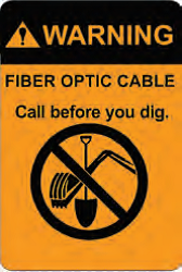 Cable Marking::Fiber Optic Cable Labels.
