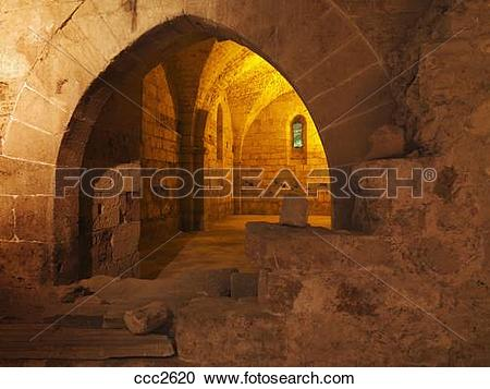 Stock Photography of Israel, Akko, the Hospitaller, Fortress the.