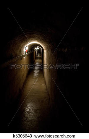 Stock Photography of A cave in a underground city k5305640.