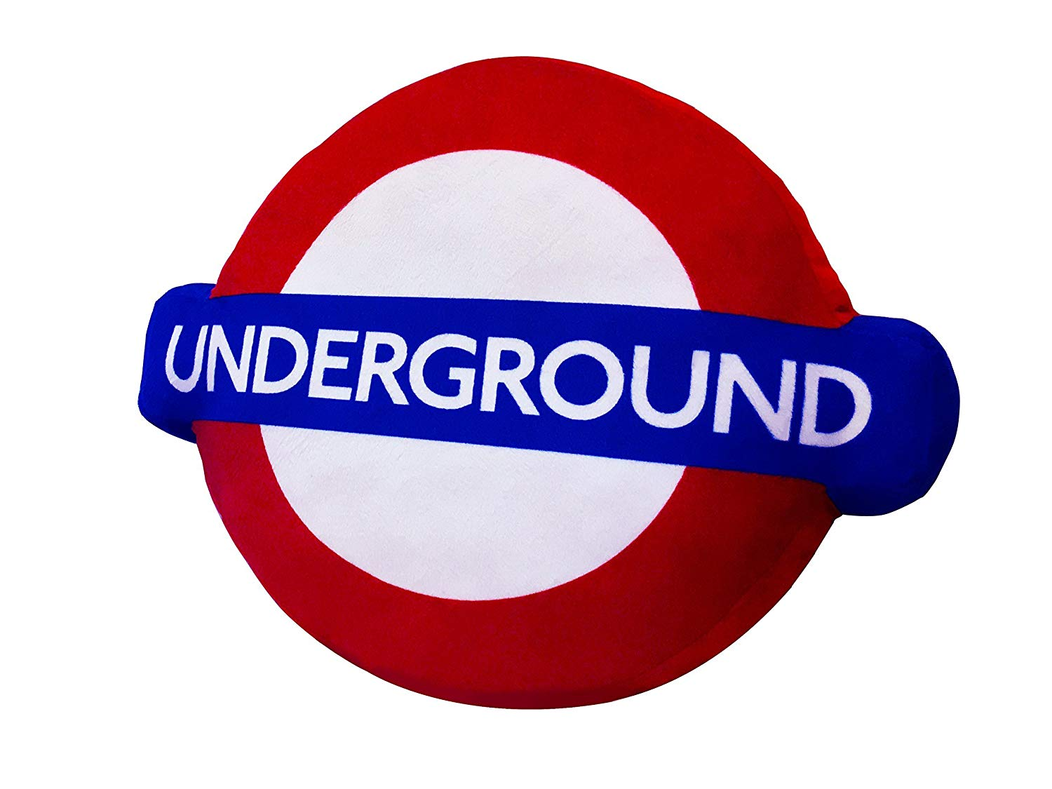 London Underground 3D Logo Cushion/Pillow.