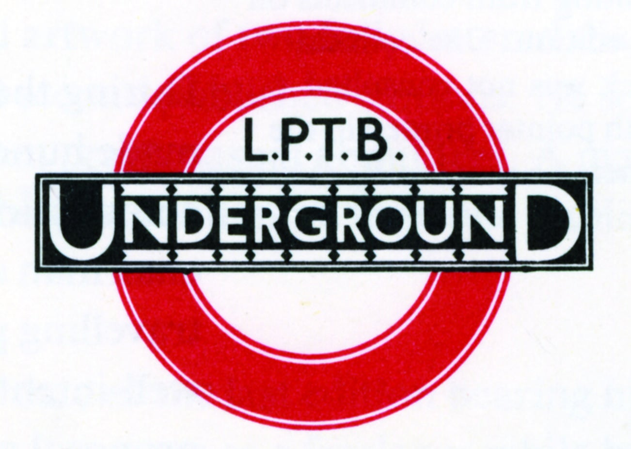 London Underground logo: A brief history of the iconic design..