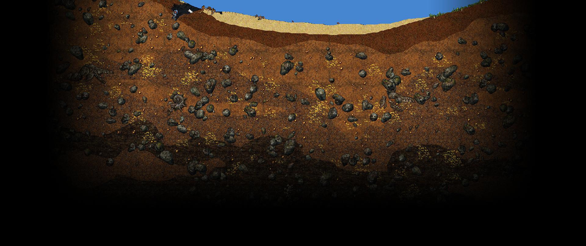 Cortex Command Background Underground.pn #69699.