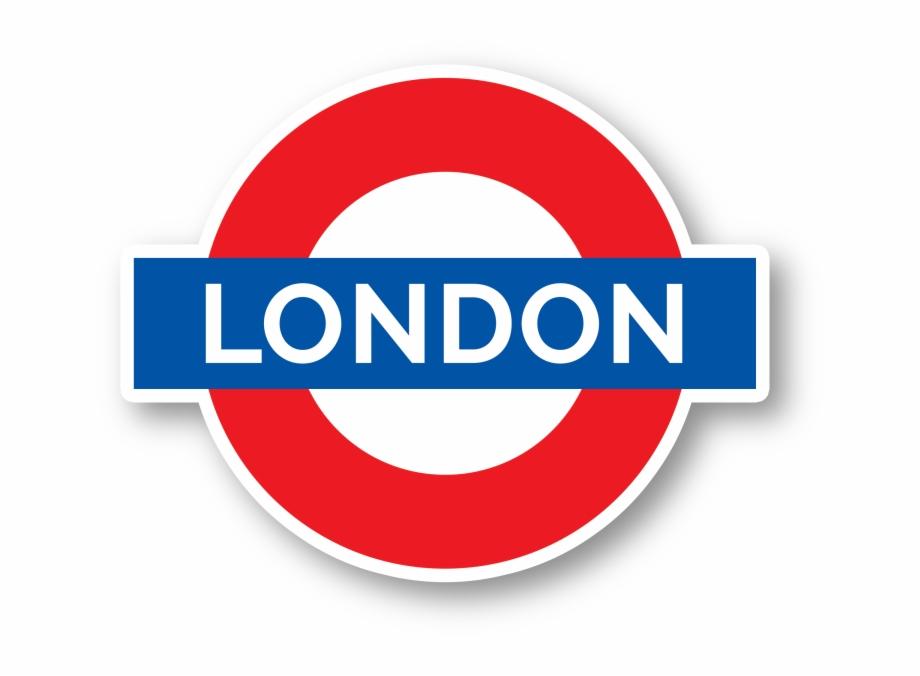 London Underground Vinyl Sticker.