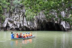 Puerto Princesa Subterranean River National Park.