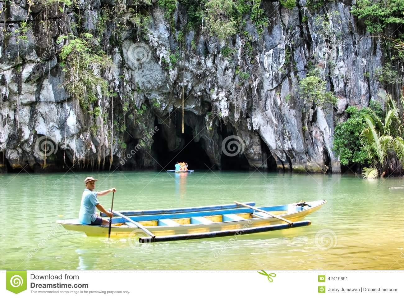 Puerto Princesa St. Paul Subterranean River Editorial Photo.