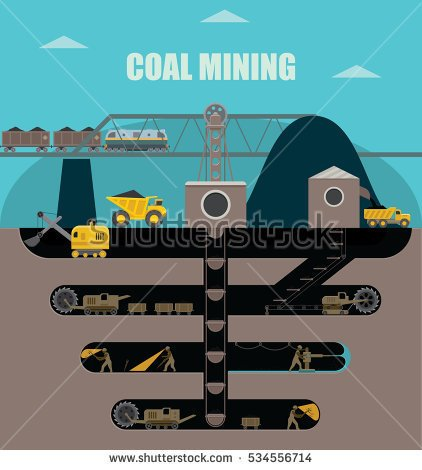 Underground Mining Stock Photos, Royalty.