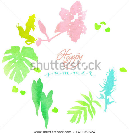 Tropical Undergrowth Stock Vectors & Vector Clip Art.