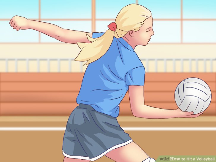 5 Ways to Hit a Volleyball.