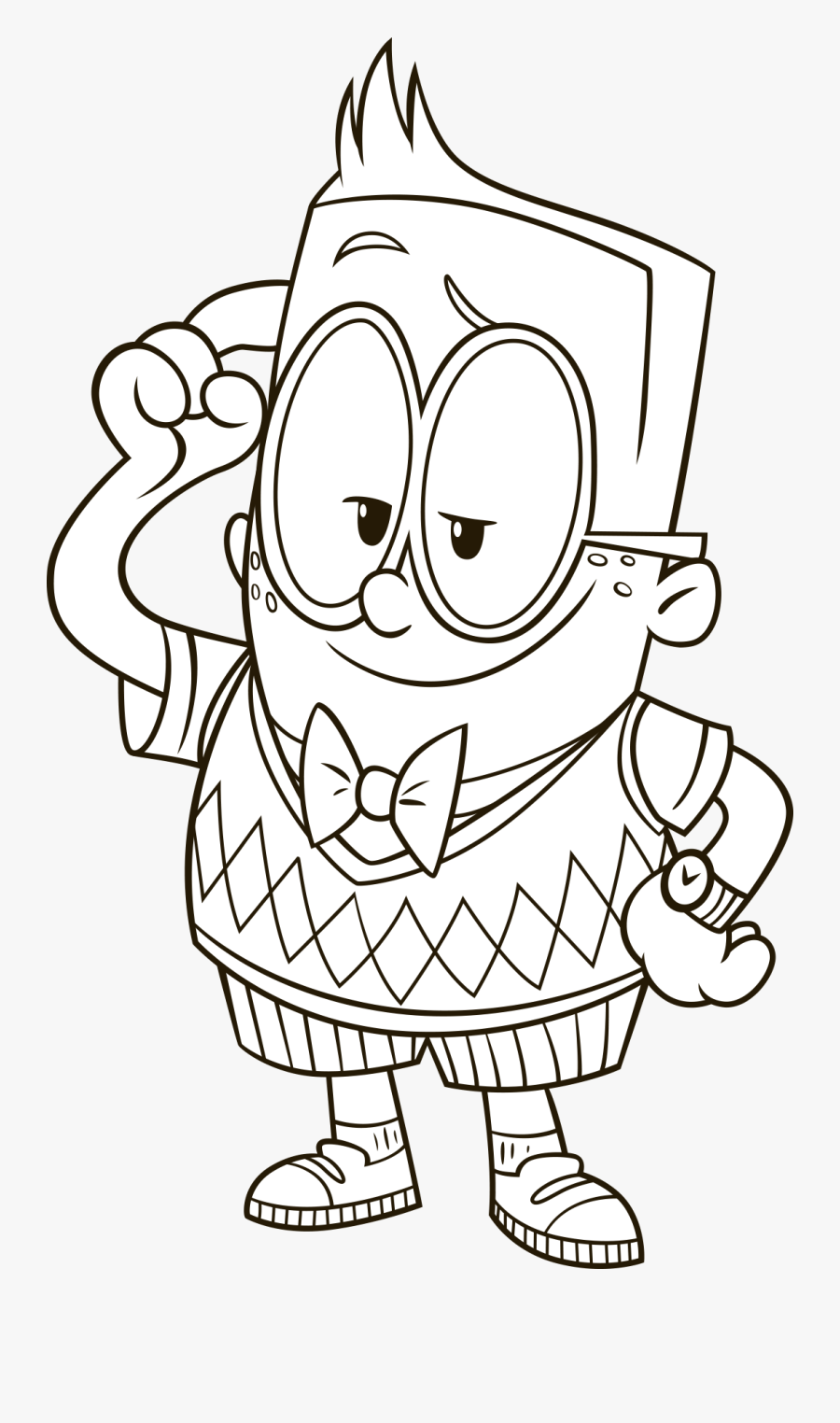 Captain Underpants Clipart Black And White , Free.