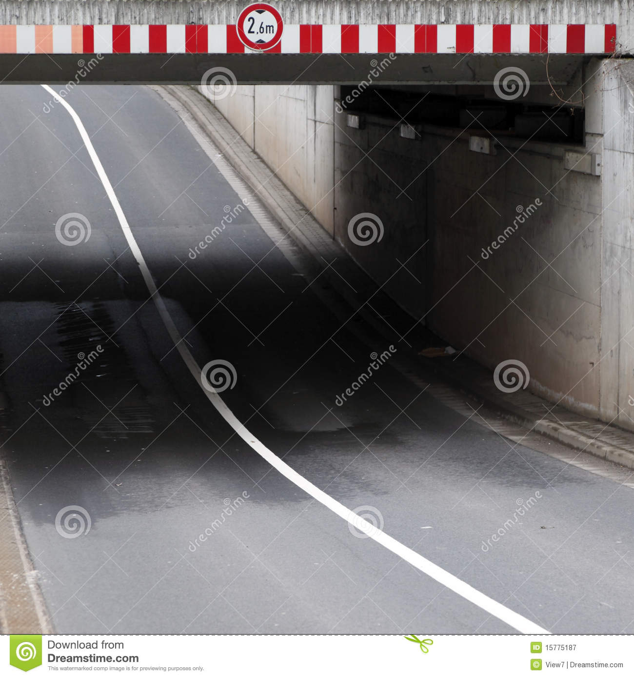 Highway Underpass Royalty Free Stock Photography.