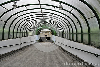 Underpass Royalty Free Stock Photo.