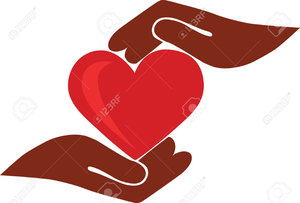 Caring Heart Clipart.
