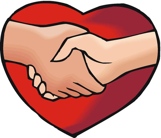 Caring Hearts Clipart.