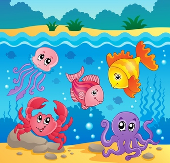 Undersea clipart #19