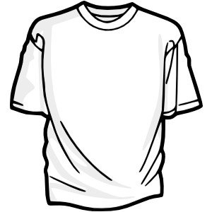 Undershirt clipart black and white 6 » Clipart Station.